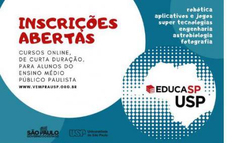 Educasp Alunos Da Rede Publica Podem Fazer Cursos Gratuitos Na Usp Comunicacao
